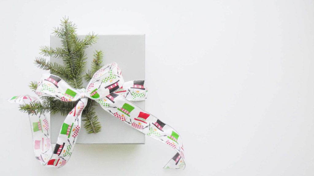 Regalos navideños sostenibles