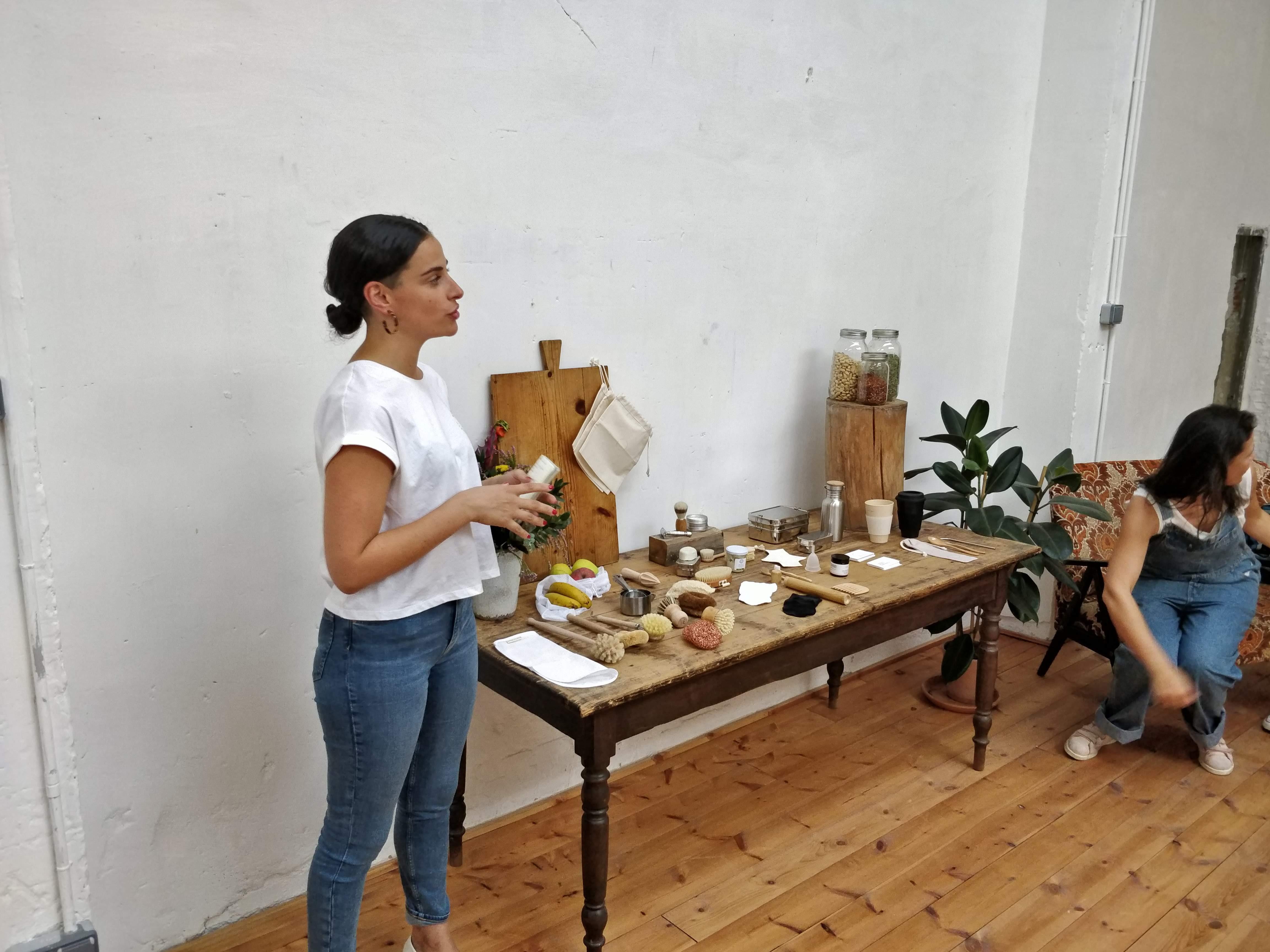 María de Earth Beat nos contó su historia y nos presentó sus productos