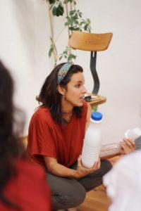 María nos animó a estudiar nuestra basura - Foto de Julia de las Heras (@everydayconsciousblog)